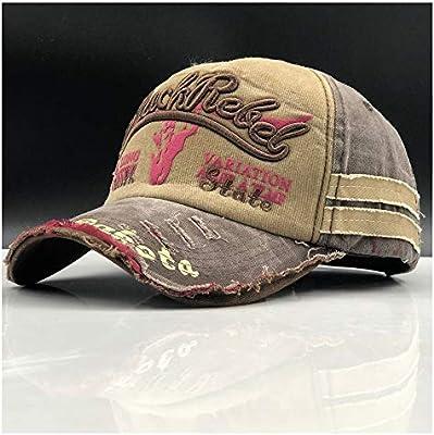 Xiaojuan-Hats, Hombres Gorras de béisbol Marca papá Casquette Mujeres Snapback Gorras Hueso Sombreros para Hombres Moda Vintage Gorras Carta algodón Cap ...