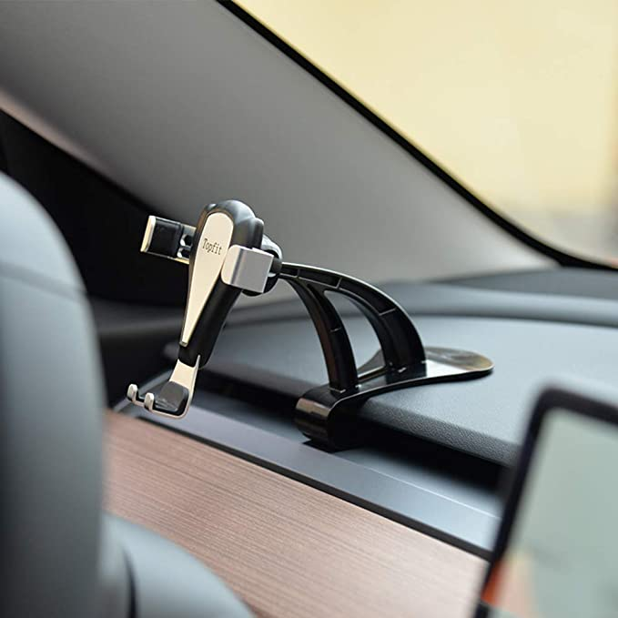 Amazon.com: Soporte de teléfono para salpicadero de coche ...