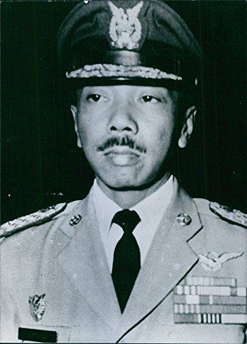 - Vintage photo of Indonesian politician, Air Commodore Sutopo.
