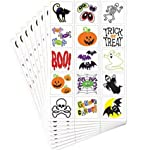 Party America Halloween Tattoo Value Pack, 120ct, talla unica