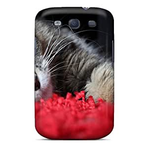 High Grade BenBrike Flexible Tpu Case For Galaxy S3 - Time For A Catnap