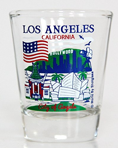 Los Angeles California Great American Cities Collection Shot Glass