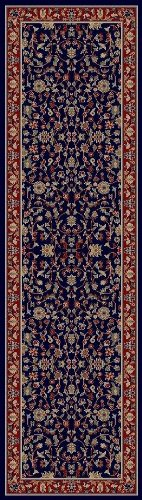 Condcord Global Trading Concord Global Jewel Katbe Runner - 2'3 x 7'7 Navy