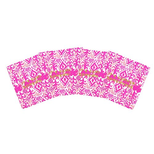 Lilly Pulitzer Cotton Cocktail Napkins, Tons of Fun