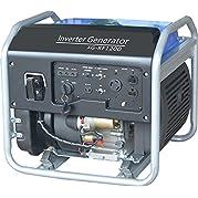 SILENT CHOICE 1200W Open Frame 4-Stroke Emergency Gasoline Protable Inverter Generator