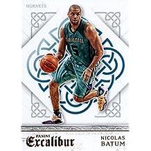 2015-16 Panini Excalibur #117 Nicolas Batum Charlotte Hornets Basketball Card