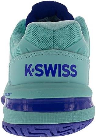 K-Swiss Women's UltraShot Tennis Shoe (Aruba Blue/Dazzling Blue, 11 M US)