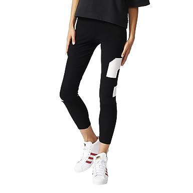 Adidas Originals BB LNG Trefoil Leggings Black (40): Amazon