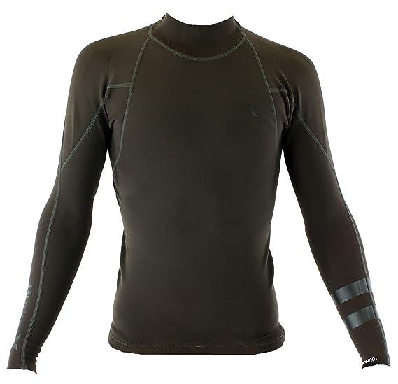 26f6b39ff0fb Amazon.com : Hurley MJK0001950 Men's Fusion 101 Wetsuit, Velvet ...