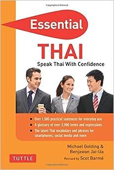 Essential Thai: Speak Thai with Confidence! (Essential Phrase Bk)