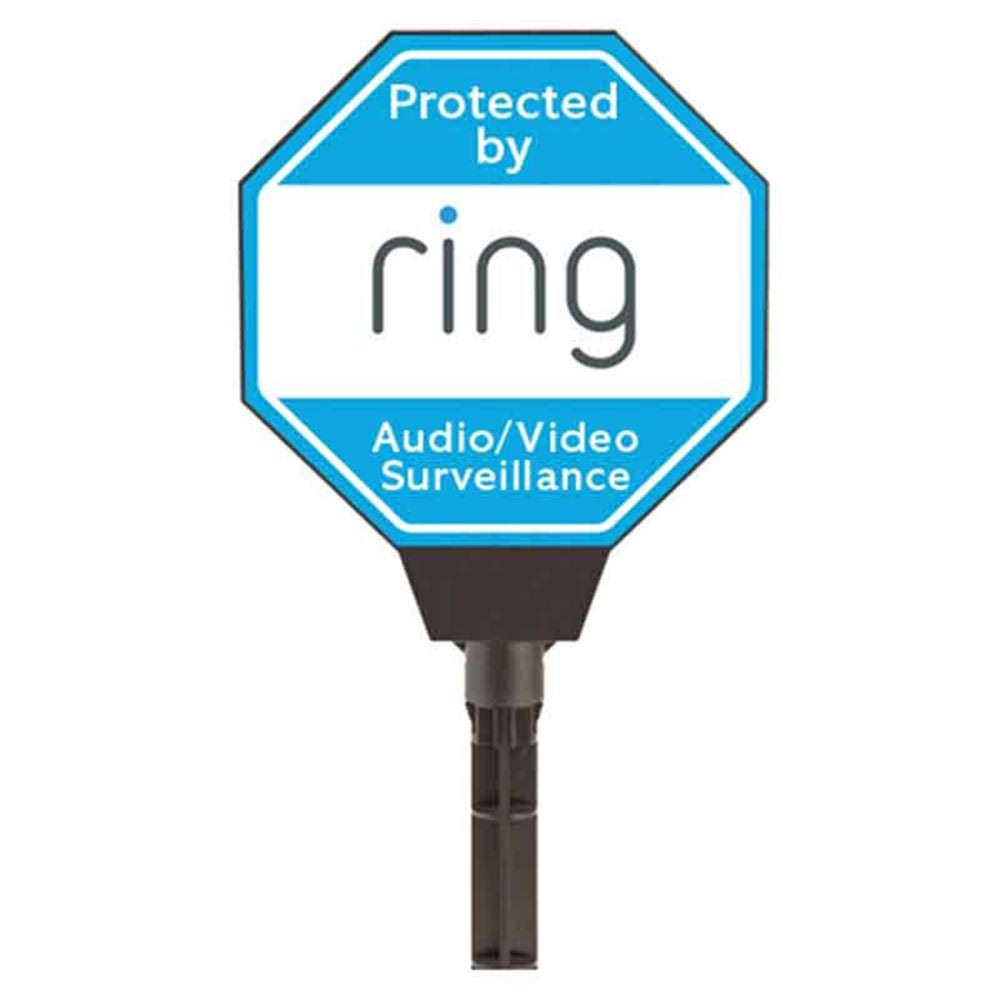 Ring Solar Security Yard Sign, Blue by Ring