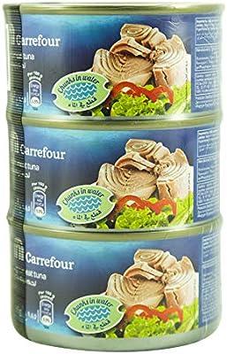 M Carrefour Tuna Chunk In Water - 3 x 185 gm: Amazon com