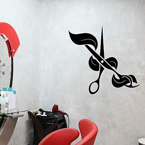 Tianpengyuanshuai Tijeras Tatuajes de Pared peluquería ...