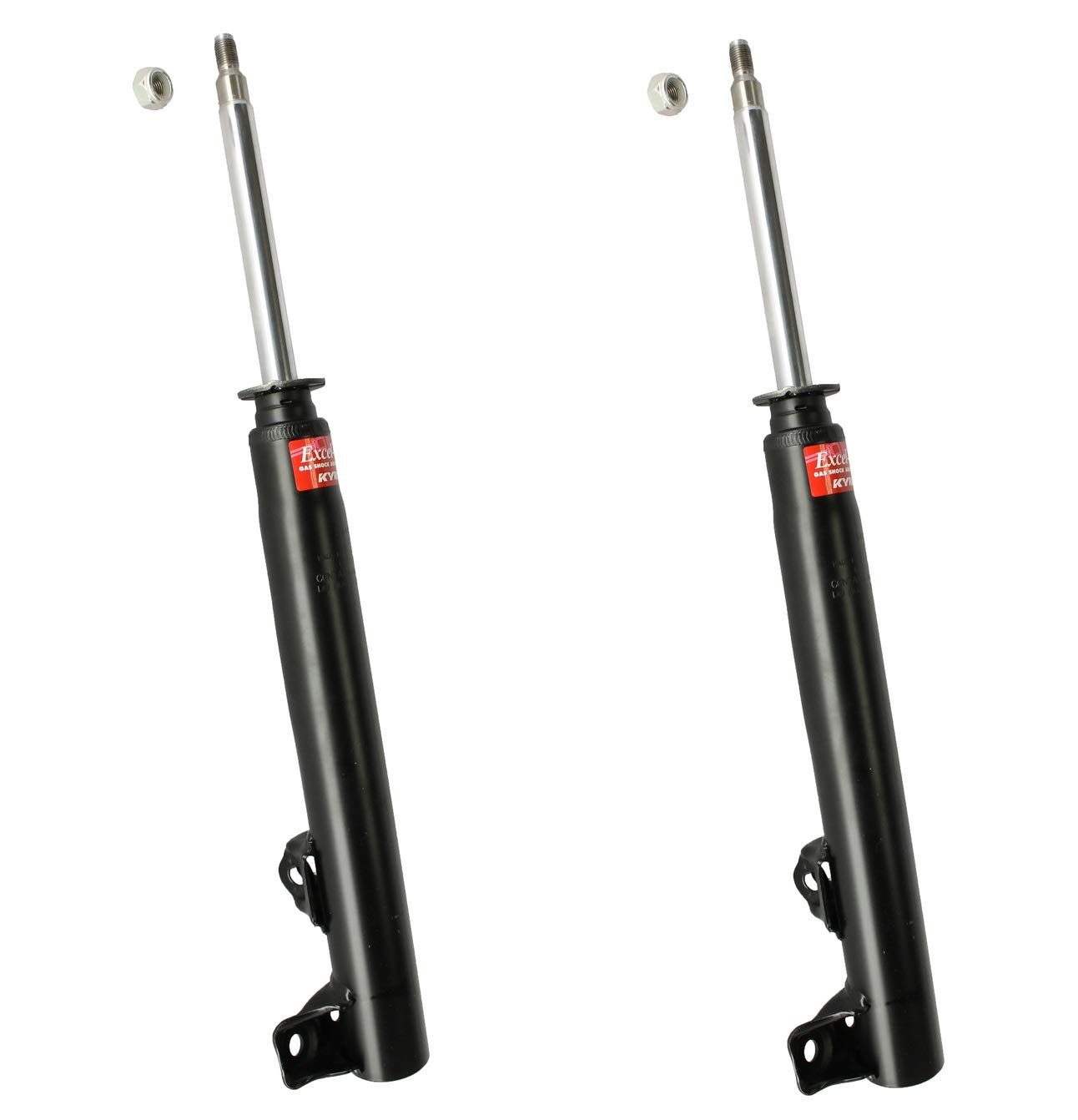 Pair Set of 2 Front KYB Excel-G Ssuspension Struts For Mercedes W201 W124 190D 190E 260E 300CE 300D 300E 300TE E320 E420 E500