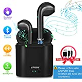 Wireless Earbuds,Bluetooth Earbuds Wireless Headphones In Ear Earphones Mini Stereo Earpiece with Noise Cancelling Mic and Charging Case Compatible iPhone X 8 Plus 7 6 6s Samsung Galaxy Android Phones