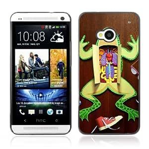 YOYOSHOP [Funny Frog Surgery ] HTC One M7 Case