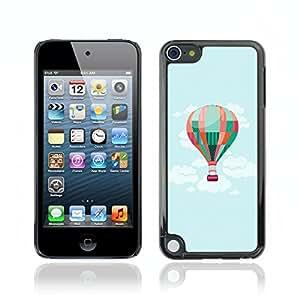 Carcasa Funda Case // V0000736 Hot Air Balloon In The Sky // Apple Ipod Touch 5 5G 5th
