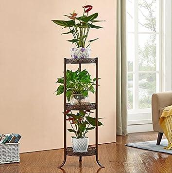 09491eb722ac Porte-fleur de style européen en fer forgé Stand Multi-fonctionnelle plante  fleur