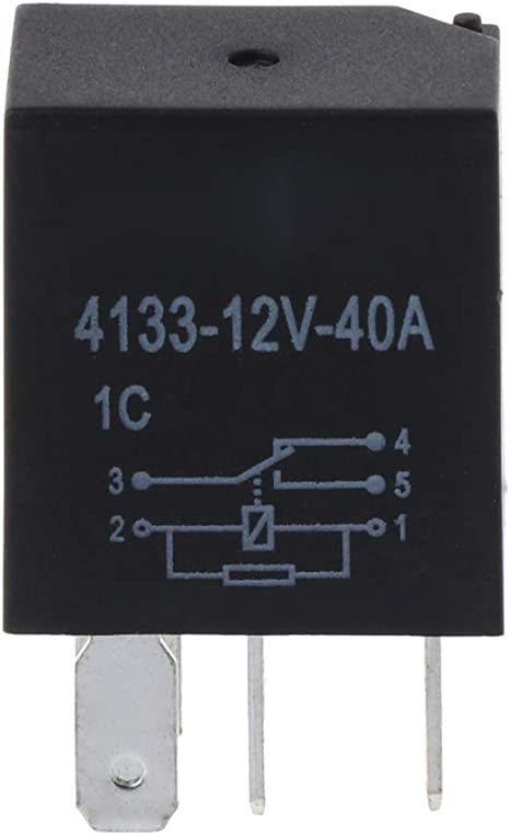 For Car Automotive 4 Pin 40A 12V Relay Long Life Time Delay Automotive Relays