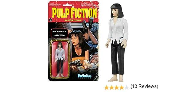 Figura Reaction 9 a 10 cm Pulp Fiction Mia Wallace: Amazon.es ...