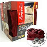 Sunbeam Imperial Plush Heated Blanket - Queen Size