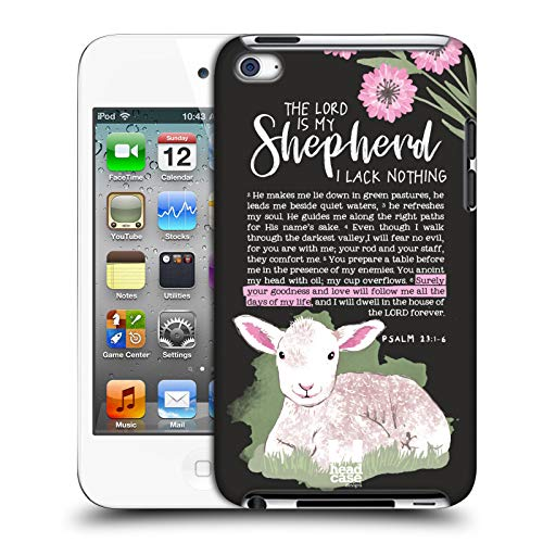 (Head Case Designs Shepherd Bible Journal Art Hard Back Case Compatible for Apple iPod Touch 4G 4th Gen)