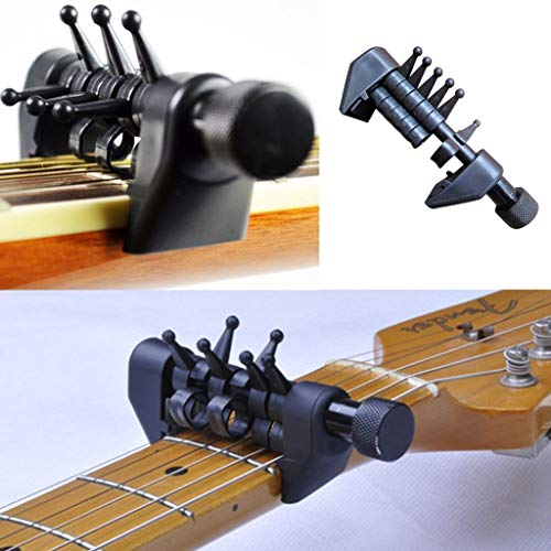 Elevin(TM) Multifunction Capo Open Tuning Spider Chords For Acoustic Guitar Strings ()