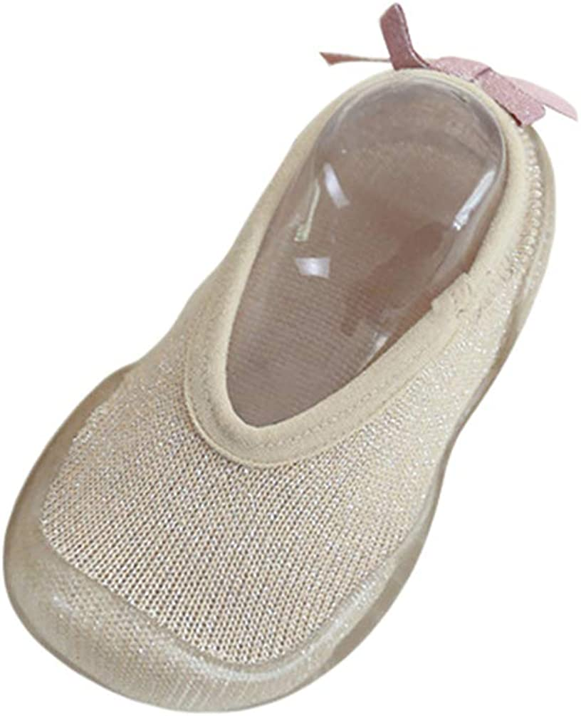 Yeeyuan Antideslizante Calcetines Calcetines de Ni/ño Color s/ólido Calcetines de pie/Zapatos de Fondo Suave Calcetines de Unisex Beb/é