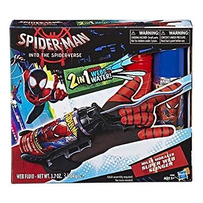 Spider-Man: Into The Spider-Verse Mile Morales Super Web Slinger Toy: Toys & Games