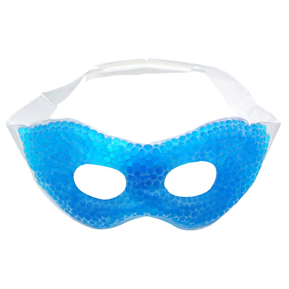 kaimaily Gel Beads Eye Mask Sleeping Eye Mask Ice Eye Patch Non Toxic Cooling for Swollen Eyes Relaxation Hot Cold Pack