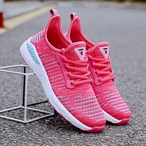 Tutta per Jogging Piatte Scarpe Casual da da Sneakers in Stagione Mesh la Corsa Scarpe Traspirante Stringate Moda Sportive Quotidiana Usura comode 1P7HH