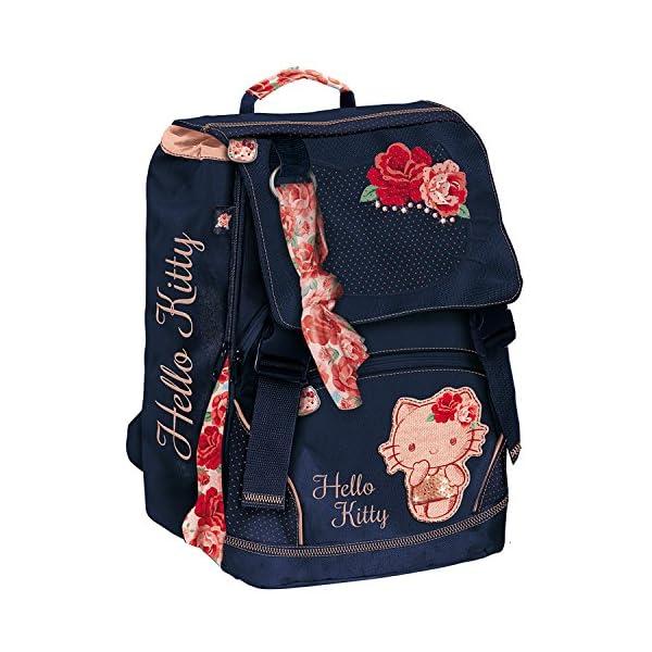 2d1f746af7 Giochi Preziosi Hello Kitty Passion Roses Zaino Estensibile Scuola ...