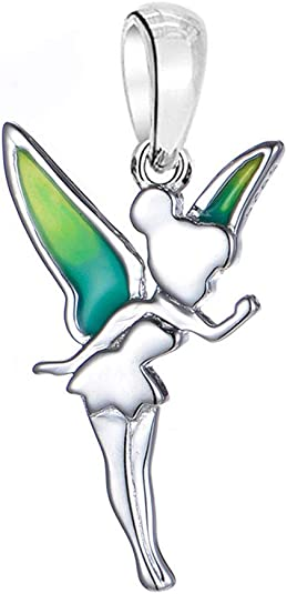 Charms Sterling Silver Tinkerbell Charm Tinkerbell Charm For Charm Bracelets Or Pendant Sterling Silver Disney Tinkerbell Fairy Charm Craft Supplies Tools