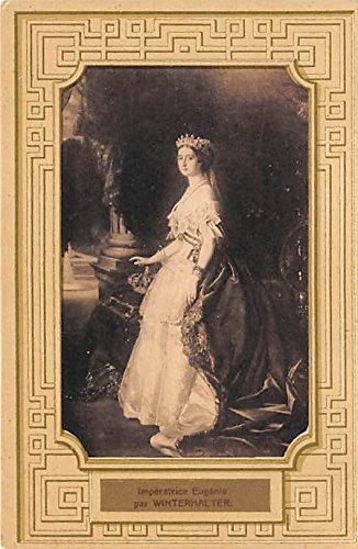 Imperatrice Eugenie par Winterhalter Famous People Postcard