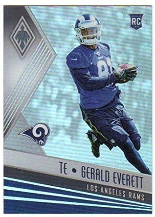8a05845b7 2017 Panini Phoenix  164 Gerald Everett RC Rookie Card Los Angeles Rams  Rookie