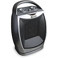 Utilitech Utility Ceramic Compact Personal Electric Space Heater with Thermostat, 1,500W