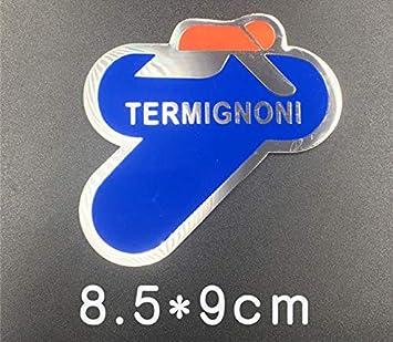 Aluminio 3D Resistente Al Calor Motocicleta Tubo De Escape Pegatinas Personalidad Fresca para Escorpio Yoshimura Emblema Flecha Calcoman/ías///Ep-02