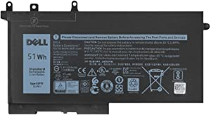 Dell 93FTF Laptop Battery Compatible with Dell Precision 15 3520 3530 Latitude E5280 E5480 E5580 E5490 E5590 E5480 E5290 E5591 E5491 Series D4CMT 4YFVG 83XPC 083XPC 11.4V 51Wh