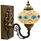 Mosaic Sconce,Mosaic Lamp,Turkish Mosaic Sconce,Sconce