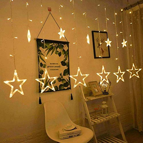 Being Amaze star lights for home   Curtain   Window   Bedroom  String LED Lights for Diwali Christmas Wedding…