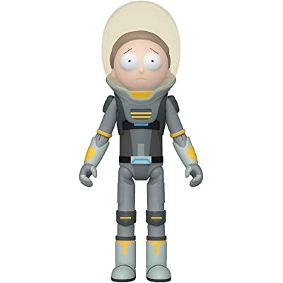 Funko Action Figure: Rick & Morty - Space Suit Morty, 44549: Toys & Games