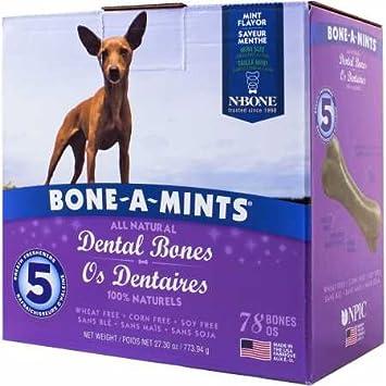 JYBL BoneAMints Dental Bones Mini 78 Pack