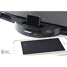 IDC© i-3 Bluetooth Music Receiver - Version 3.0 Software - 2 in 1 Capabilities - 30 Pin Connections - Turn your Dock Bluetooth to Make your Docking Station/Speaker Wireless. Stream Music Throughout your House.
