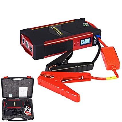 Amazon.com: Juego de batería de coche Jump Starter Portátil ...