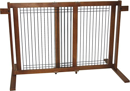 Crown Pet Products 29.4-Inch High Freestanding Wood/Wire Pet