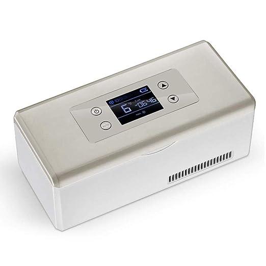 MGZDH Refrigerador de insulina - Pantalla HD Congelador portátil ...