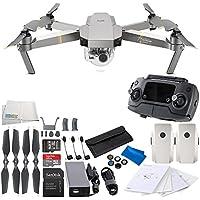 DJI Mavic Pro Platinum Collapsible Quadcopter Drone Essential Videographer Bundle