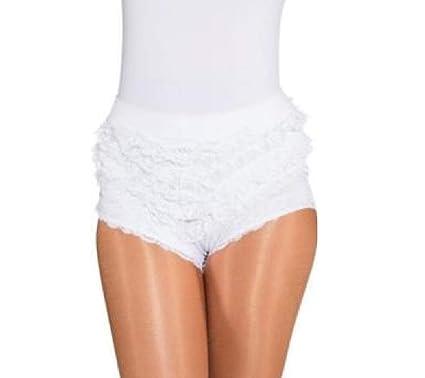 bdaa2810790d O40066 weiß Kinder Mädchen Damen Spitzenhose-Rüschenhose für  Mariechenkostüm  Amazon.de  Bekleidung