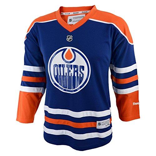 NHL Edmonton Oilers 8-20 Youth Replica Jersey, Edmonton Oilers, (Edmonton Oilers Nhl Jersey)