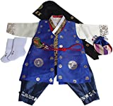 Korean Traditional Hanboks Costumes BABY BOYS KIDS 1st Birthday DOLBOK hb004/1